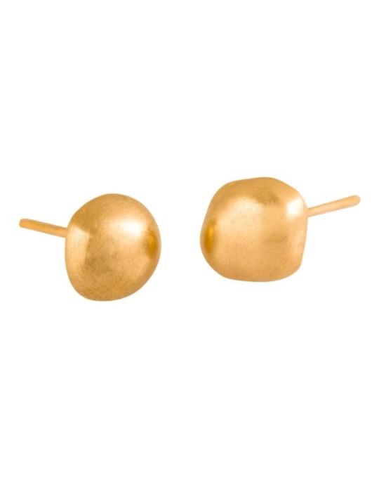 עגילי חלוקים זהב